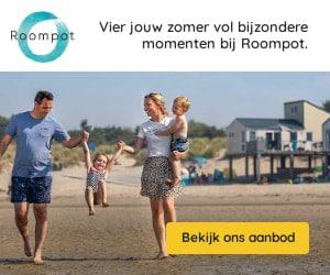 Roompot in de duinen banner